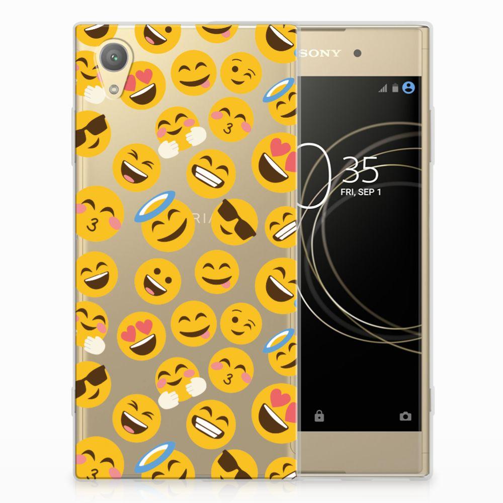 Sony Xperia XA1 Plus TPU bumper Emoji
