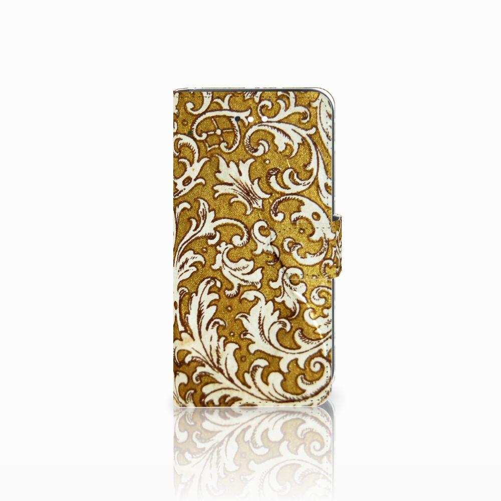 LG K11 Boekhoesje Design Barok Goud