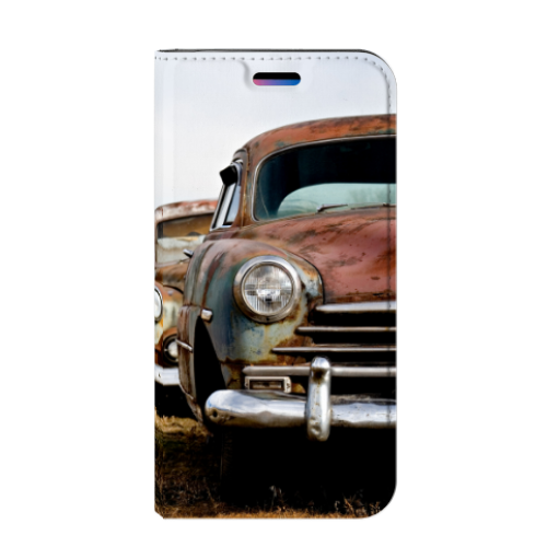 Apple iPhone X | Xs Stand Case Vintage Auto