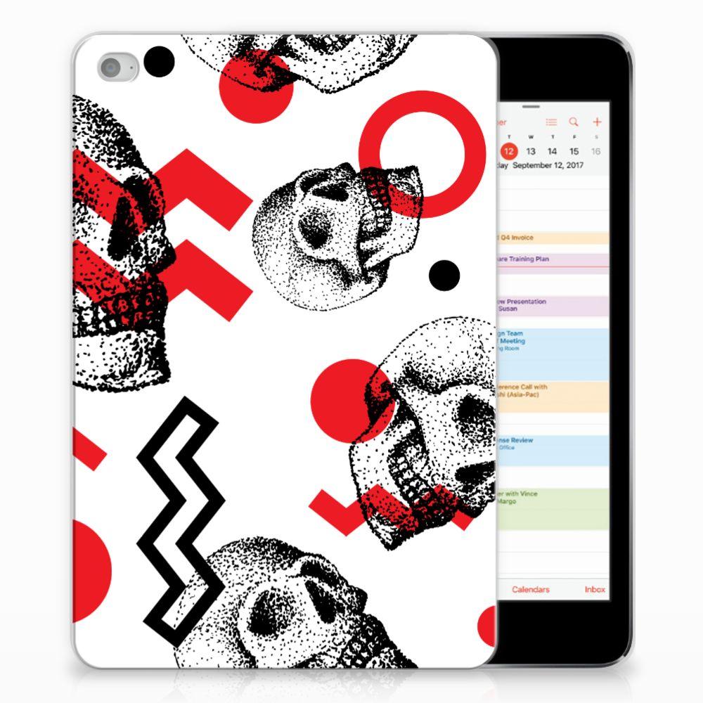 Tablet BackCover Apple iPad Mini 4 | Mini 5 (2019) Skull Red