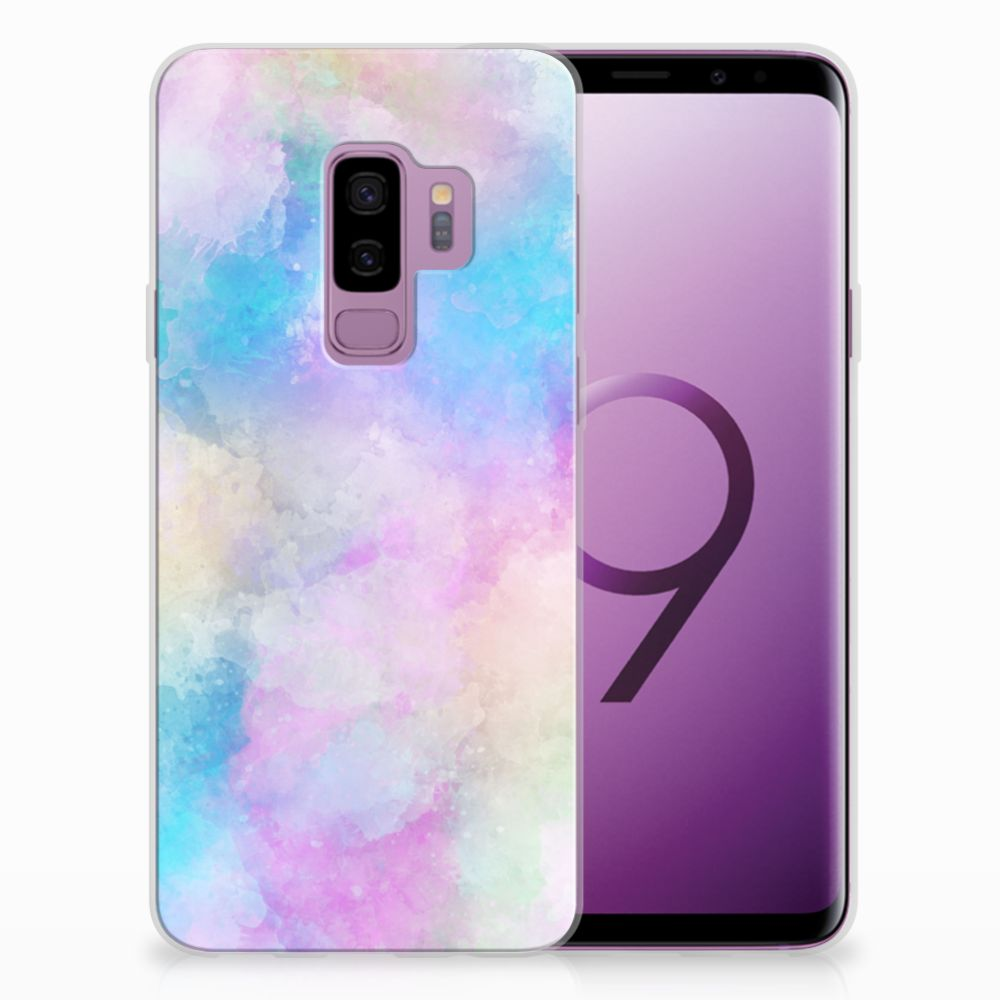 Samsung Galaxy S9 Plus Uniek TPU Hoesje Watercolor Light