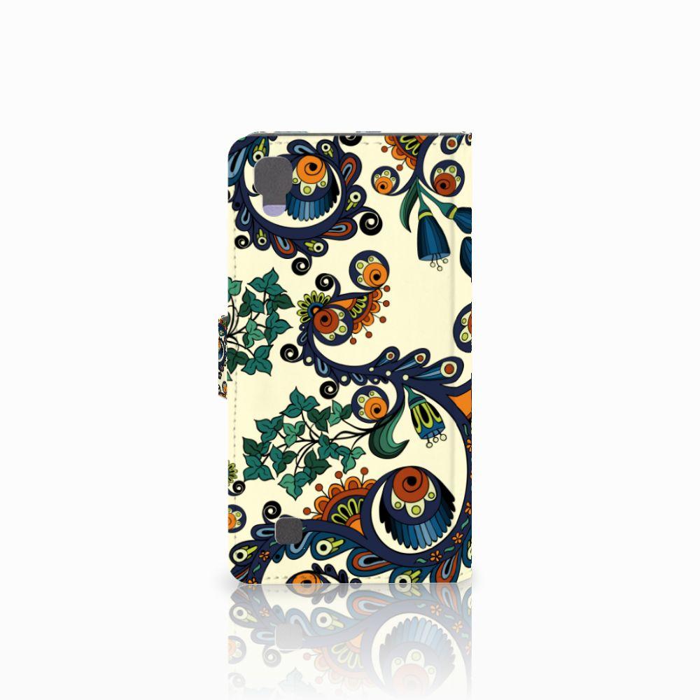 Wallet Case LG X Power Barok Flower