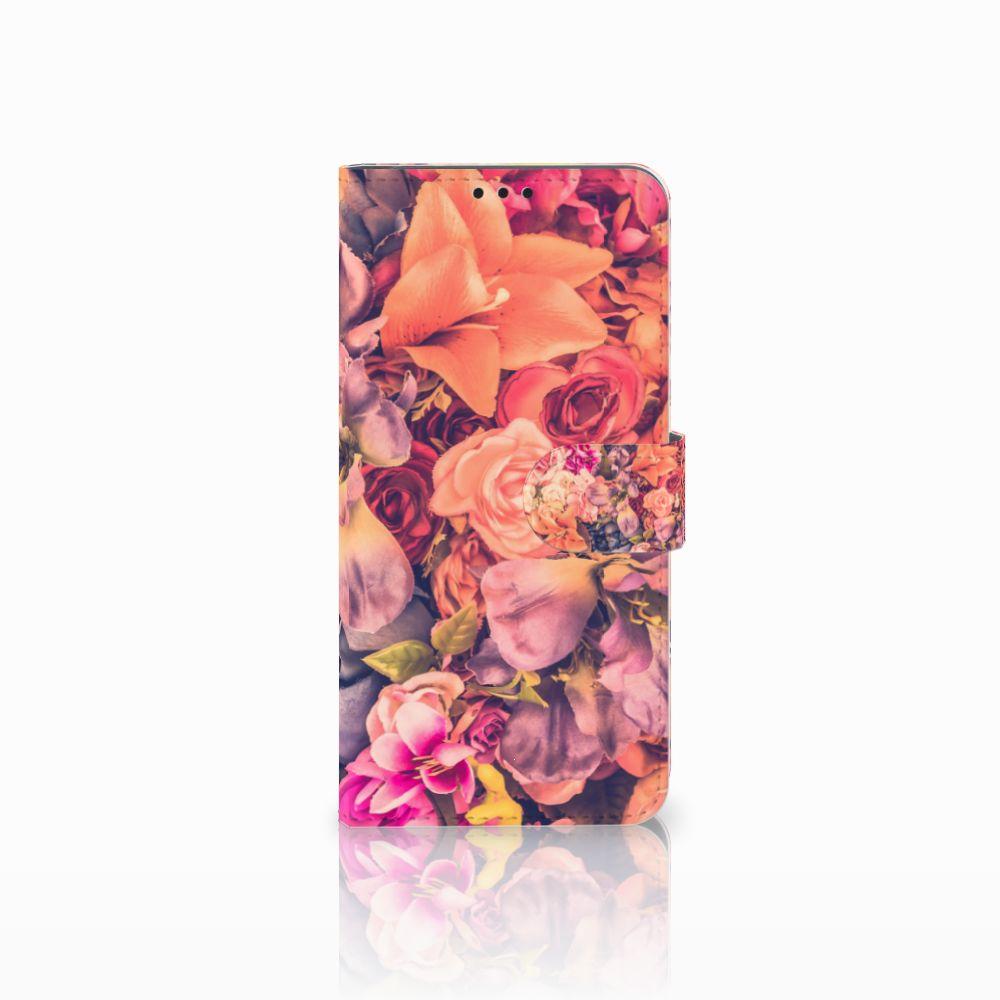 Huawei P Smart Plus Boekhoesje Design Bosje Bloemen
