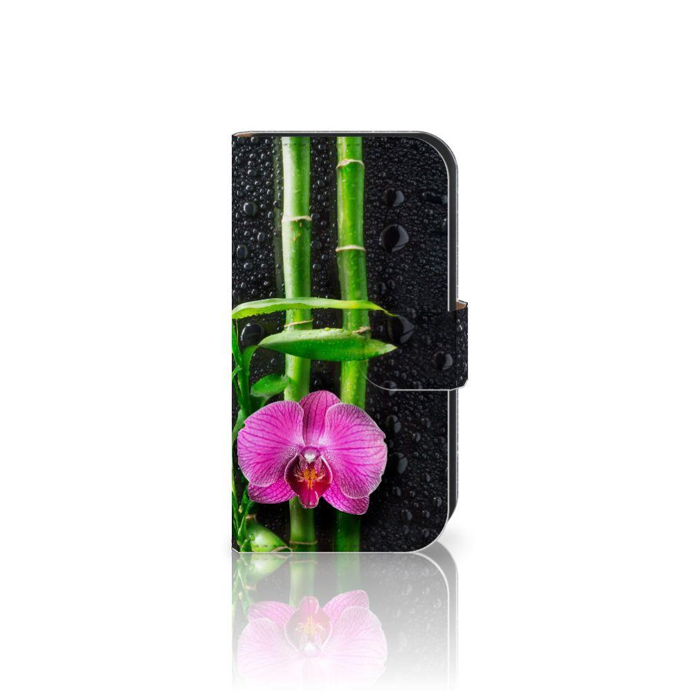 Samsung Galaxy Ace 4 4G (G357-FZ) Boekhoesje Design Orchidee