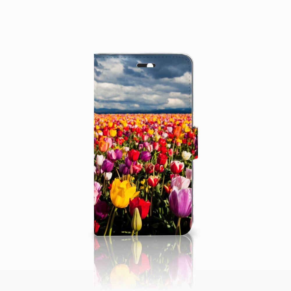Huawei Y6 II | Honor 5A Uniek Boekhoesje Tulpen