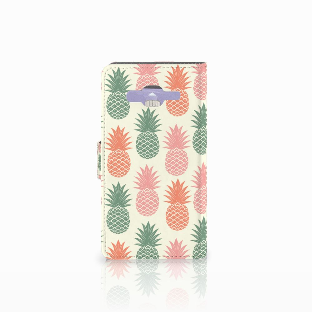 Samsung Galaxy J5 (2015) Book Cover Ananas