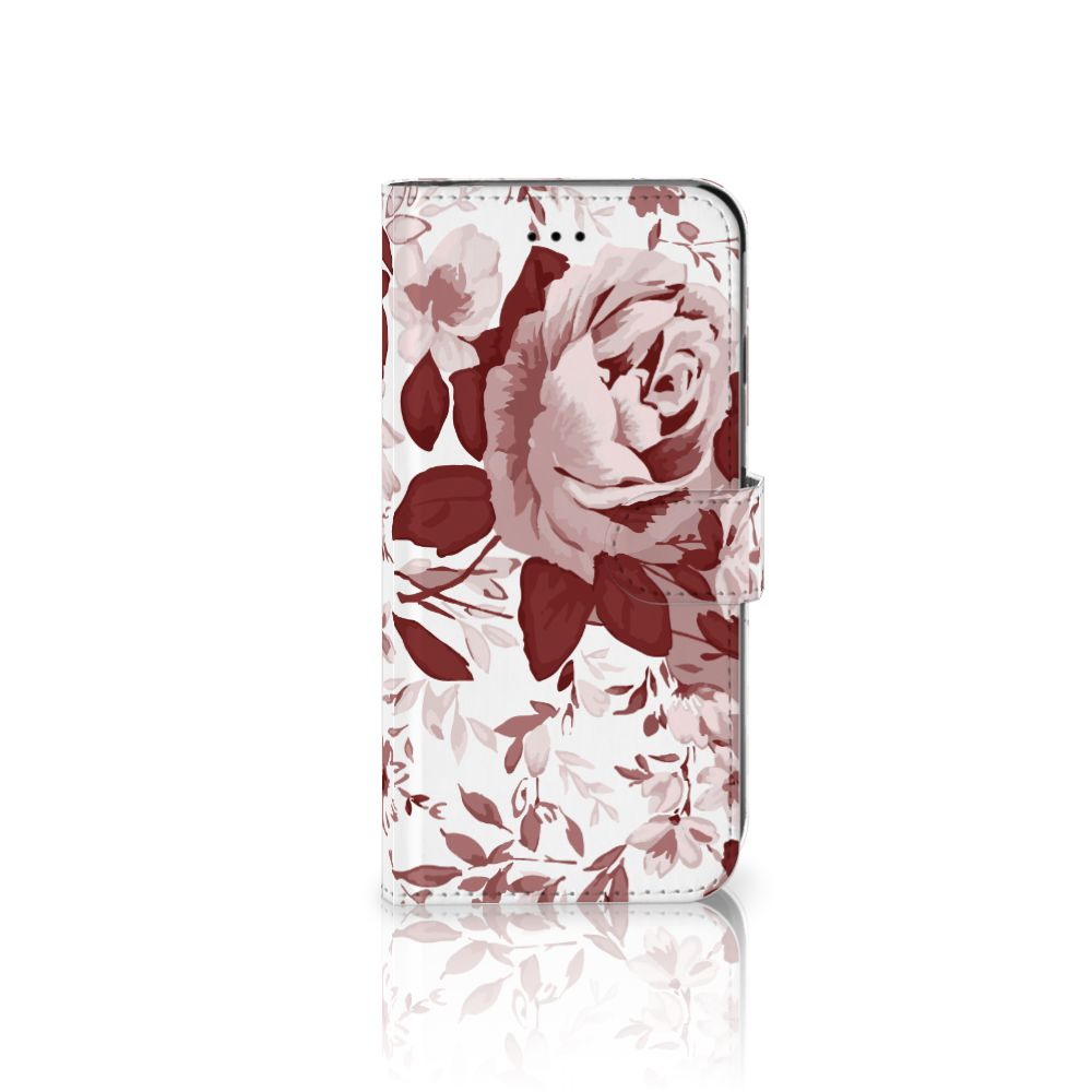 Apple iPhone 6 Plus | 6s Plus Uniek Boekhoesje Watercolor Flowers