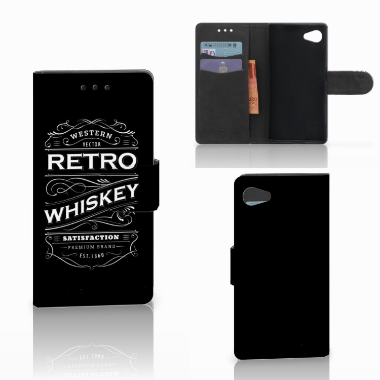 Sony Xperia Z5 Compact Book Cover Whiskey
