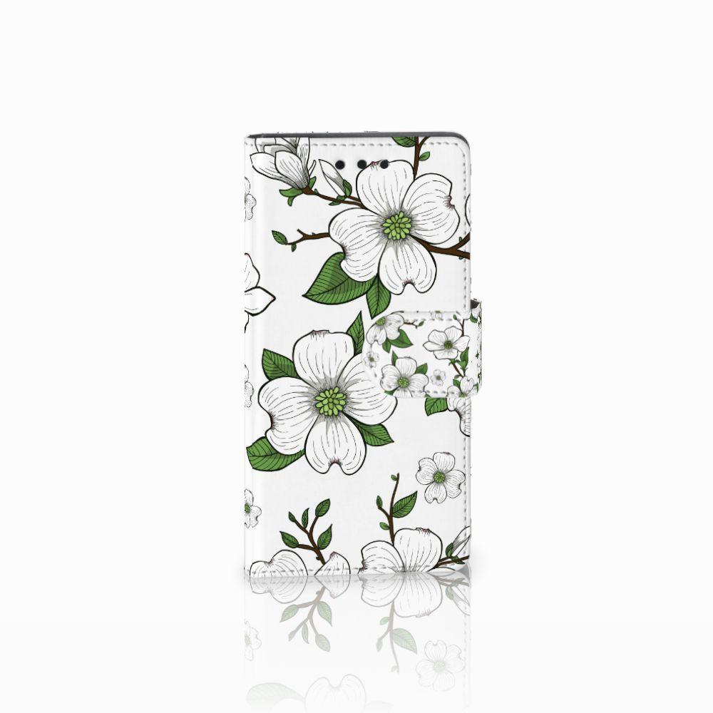 Sony Xperia Z5 Compact Boekhoesje Design Dogwood Flowers