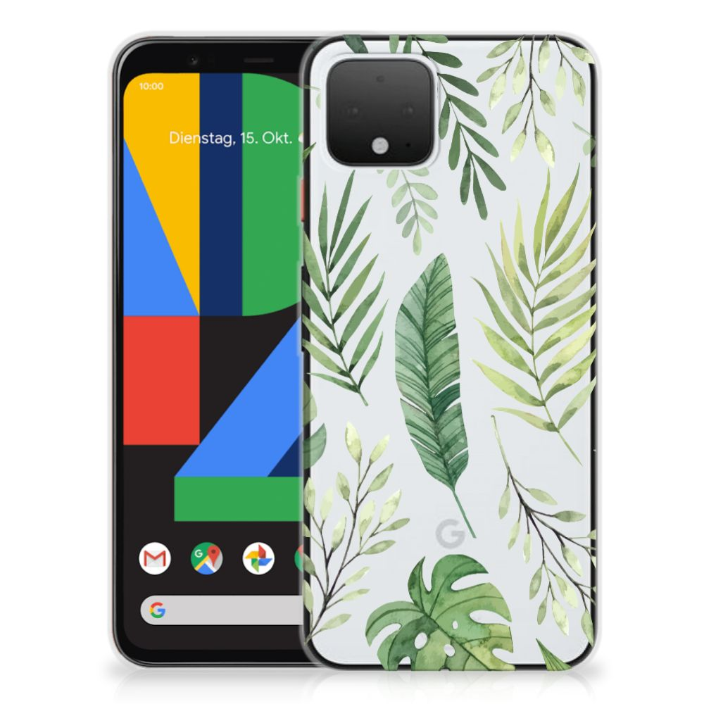 Google Pixel 4 TPU Case Leaves
