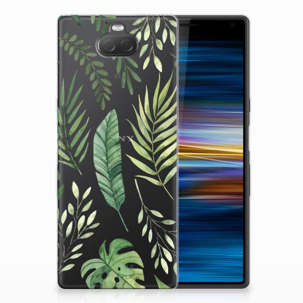 Sony Xperia 10 TPU Case Leaves