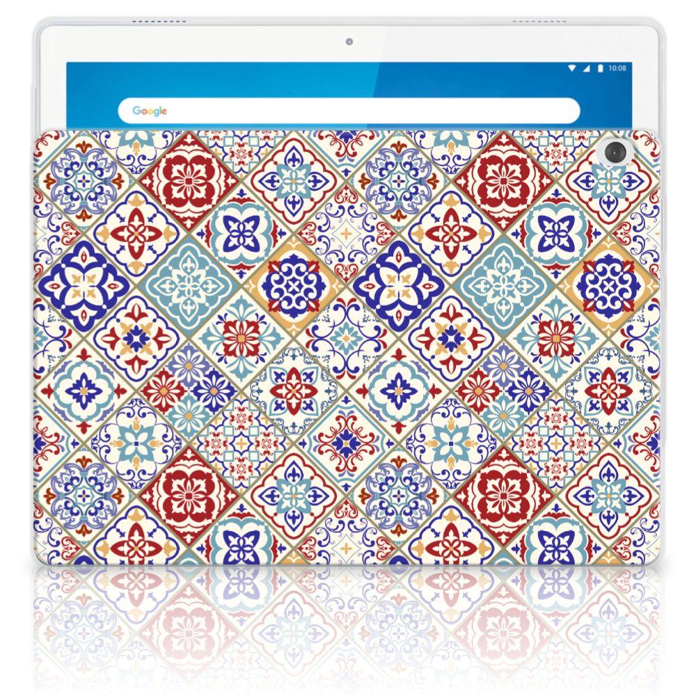 Lenovo Tab M10 Tablet Back Cover Tiles Color
