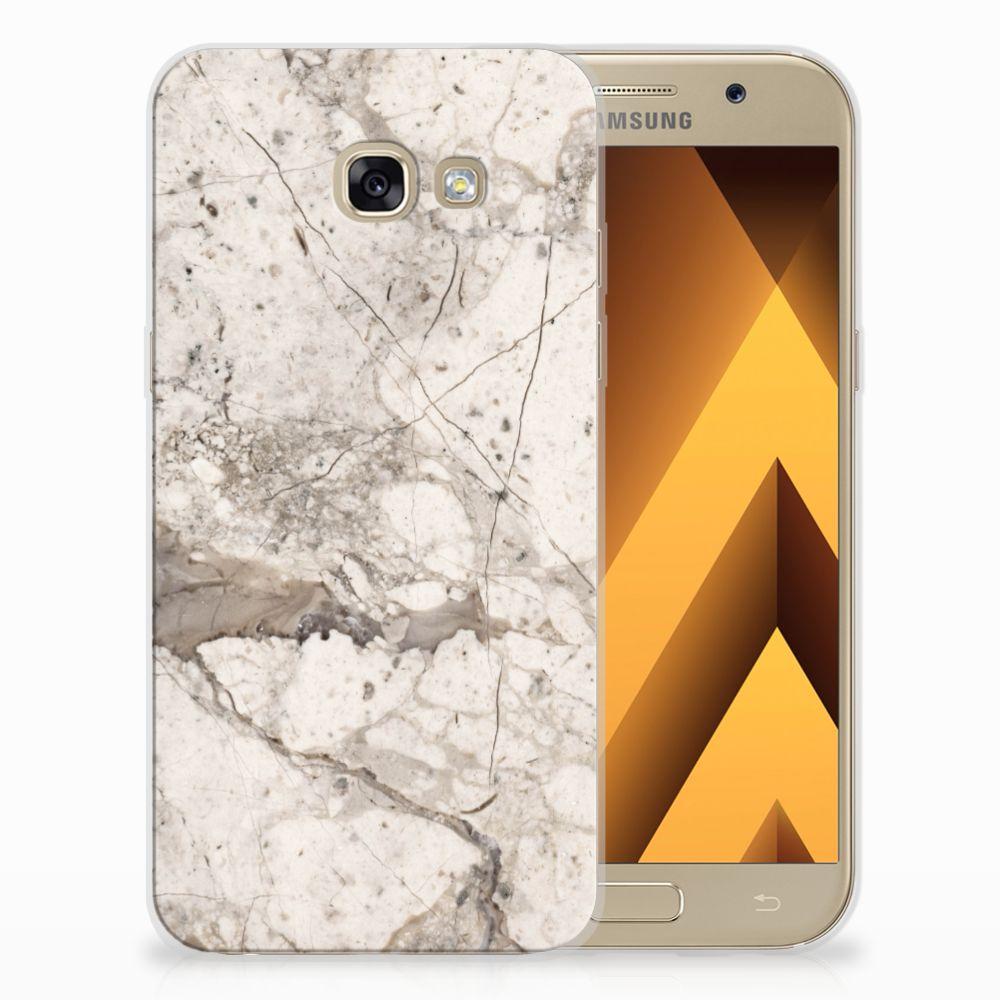 Samsung Galaxy A5 2017 TPU Hoesje Design Marmer Beige