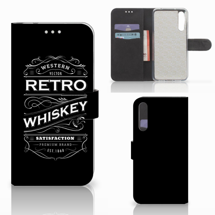 Huawei P20 Pro Book Cover Whiskey