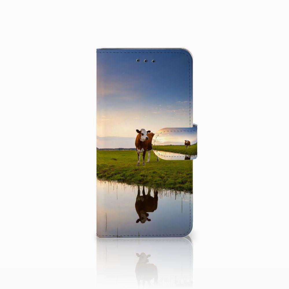 Motorola Moto E5 Play Boekhoesje Design Koe
