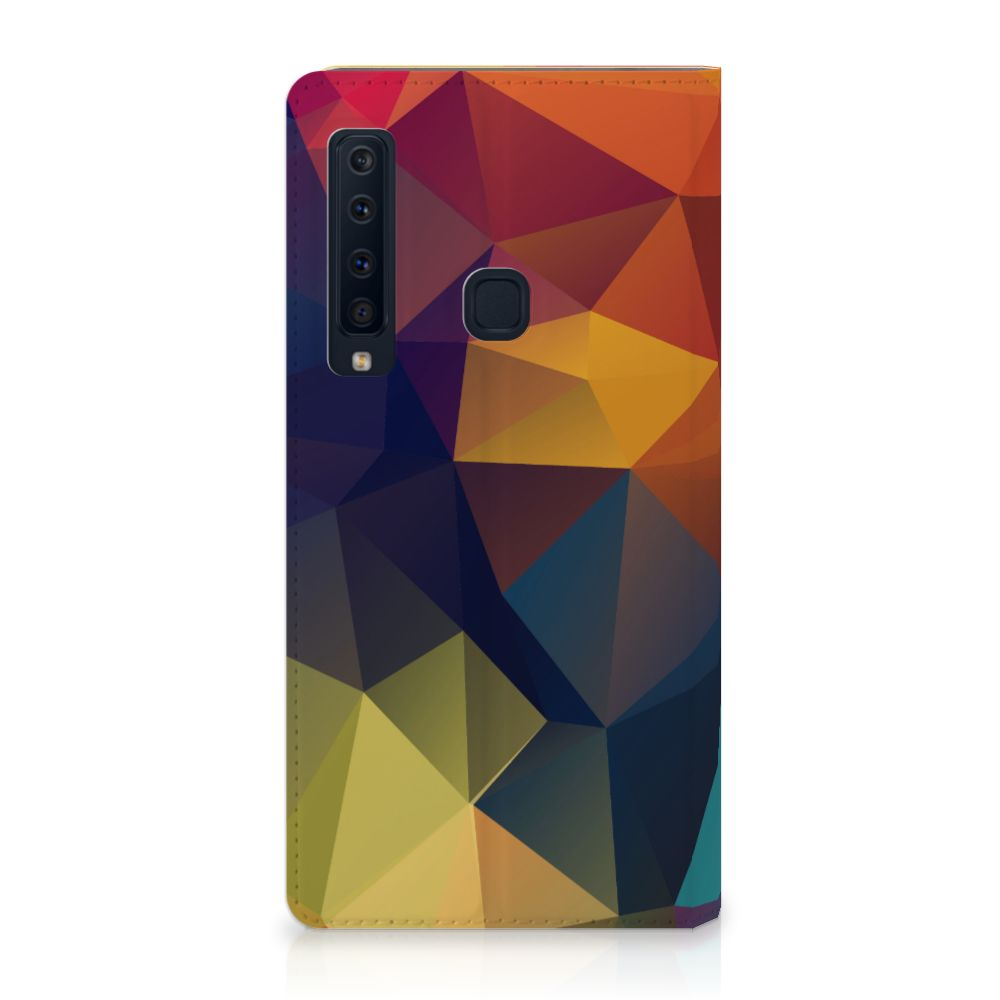 Samsung Galaxy A9 (2018) Stand Case Polygon Color