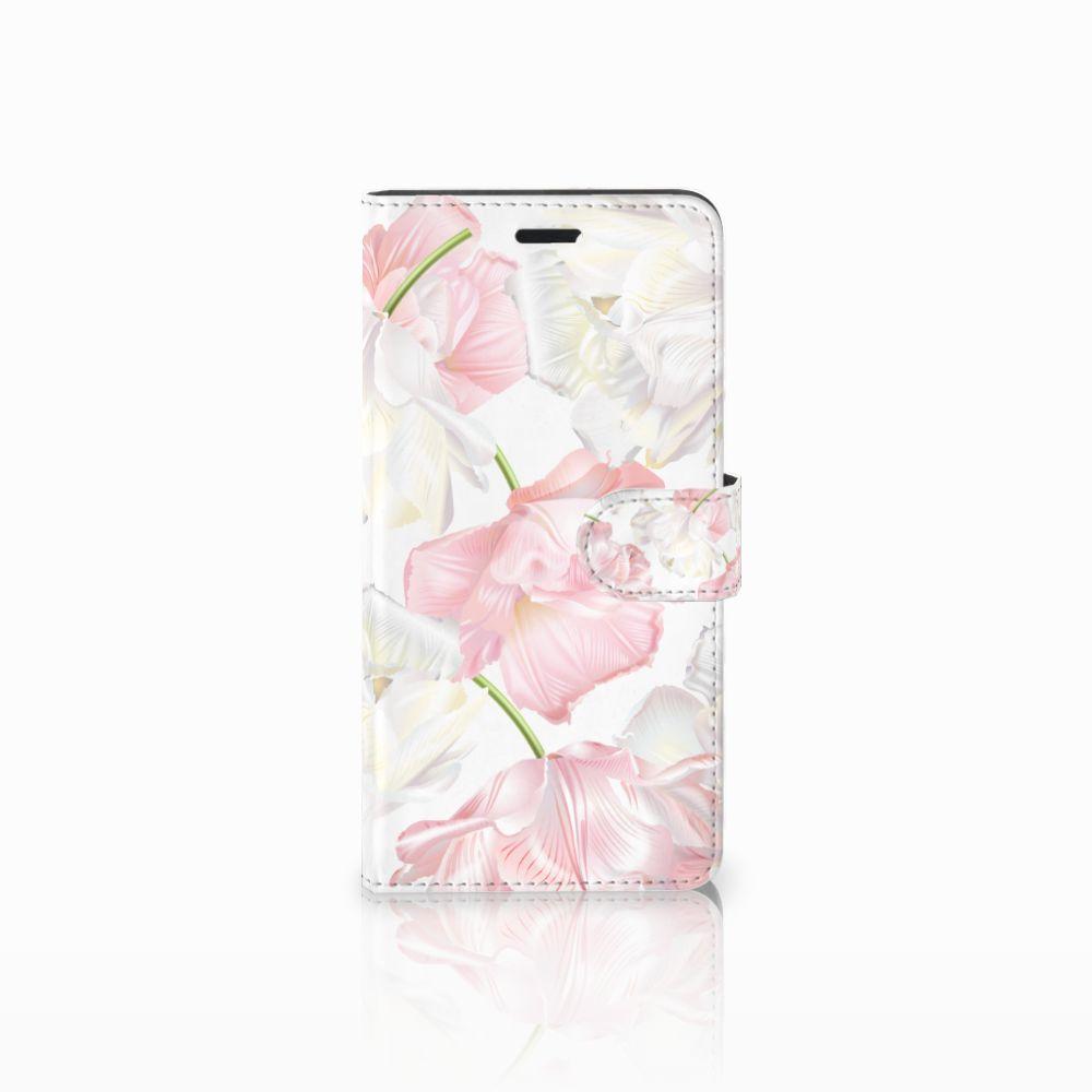 Wiko Pulp Fab 4G Boekhoesje Design Lovely Flowers