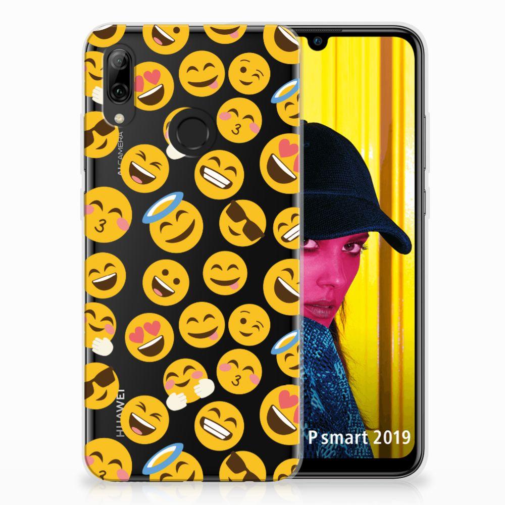 Huawei P Smart 2019 TPU Hoesje Design Emoji