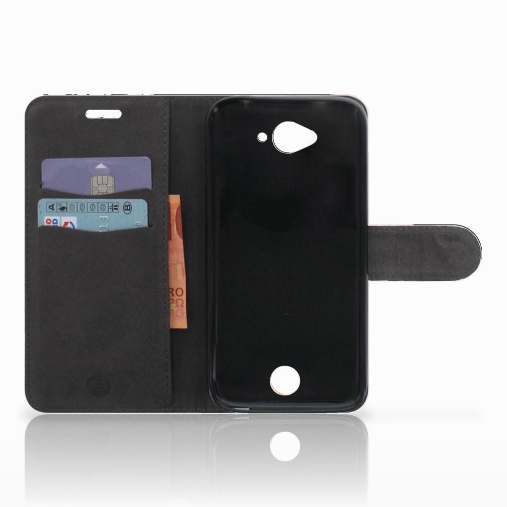 Acer Liquid Z530 | Z530s Bookcase Zwart Roze Vormen