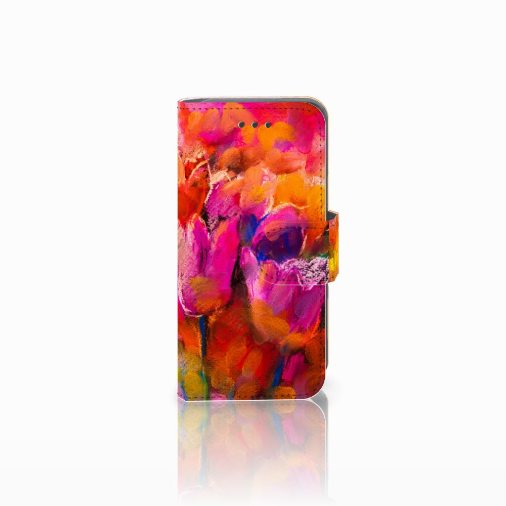 Apple iPod Touch 5   6 Boekhoesje Design Tulips