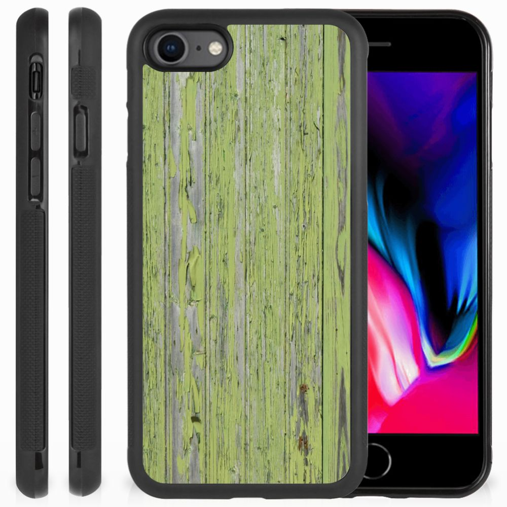 Apple iPhone 7 | 8 Grip Case Green Wood