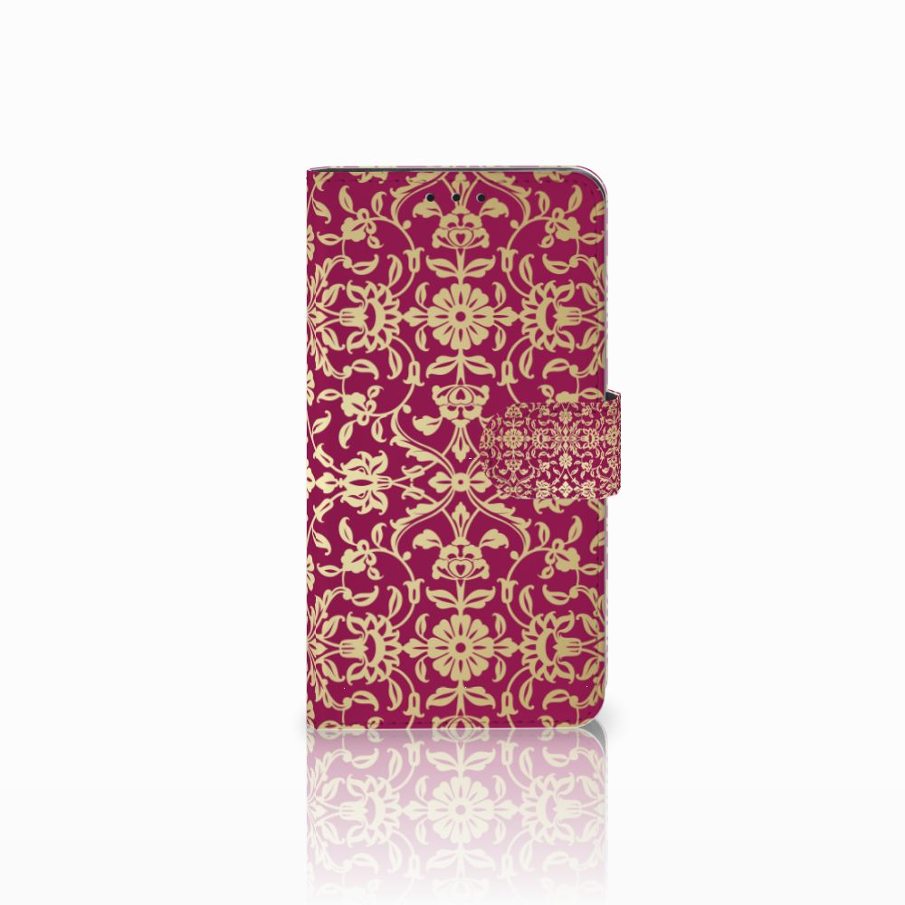 Huawei Honor 6X Boekhoesje Design Barok Pink