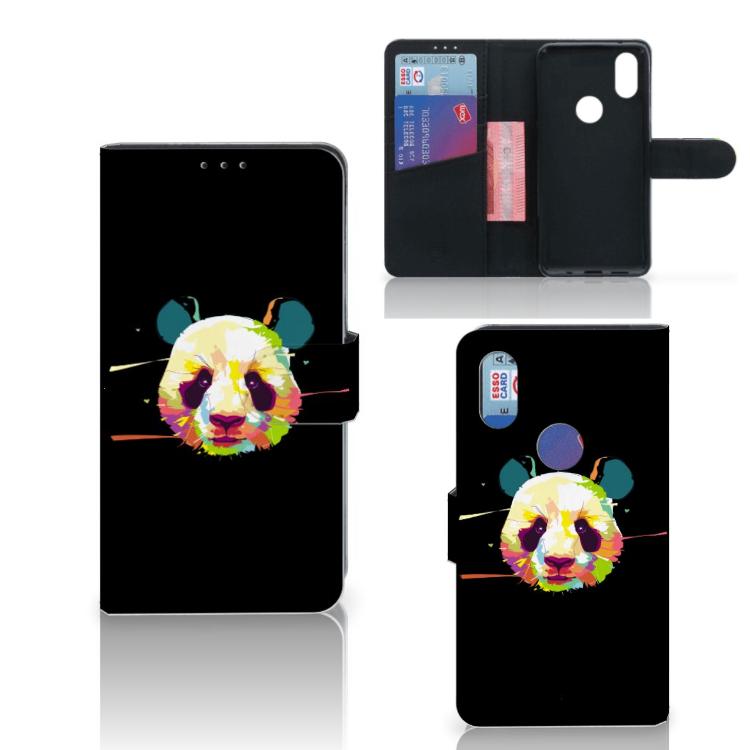 Xiaomi Mi Mix 2s Leuk Hoesje Panda Color