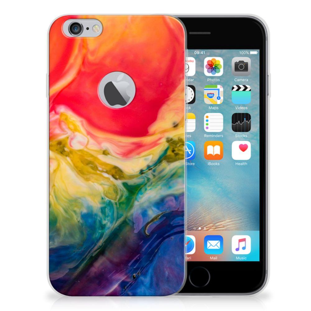 Hoesje maken Apple iPhone 6 Plus | 6s Plus Watercolor Dark