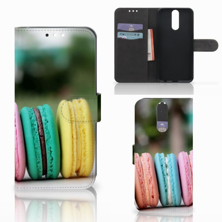 Huawei Mate 10 Lite Book Cover Macarons
