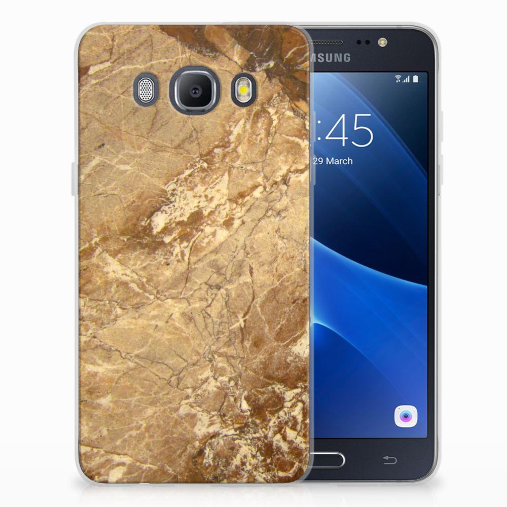 Samsung Galaxy J5 2016 TPU Hoesje Design Marmer