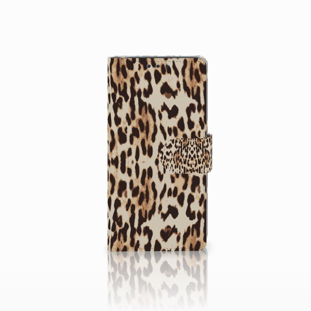 HTC Desire 626 | Desire 626s Uniek Boekhoesje Leopard