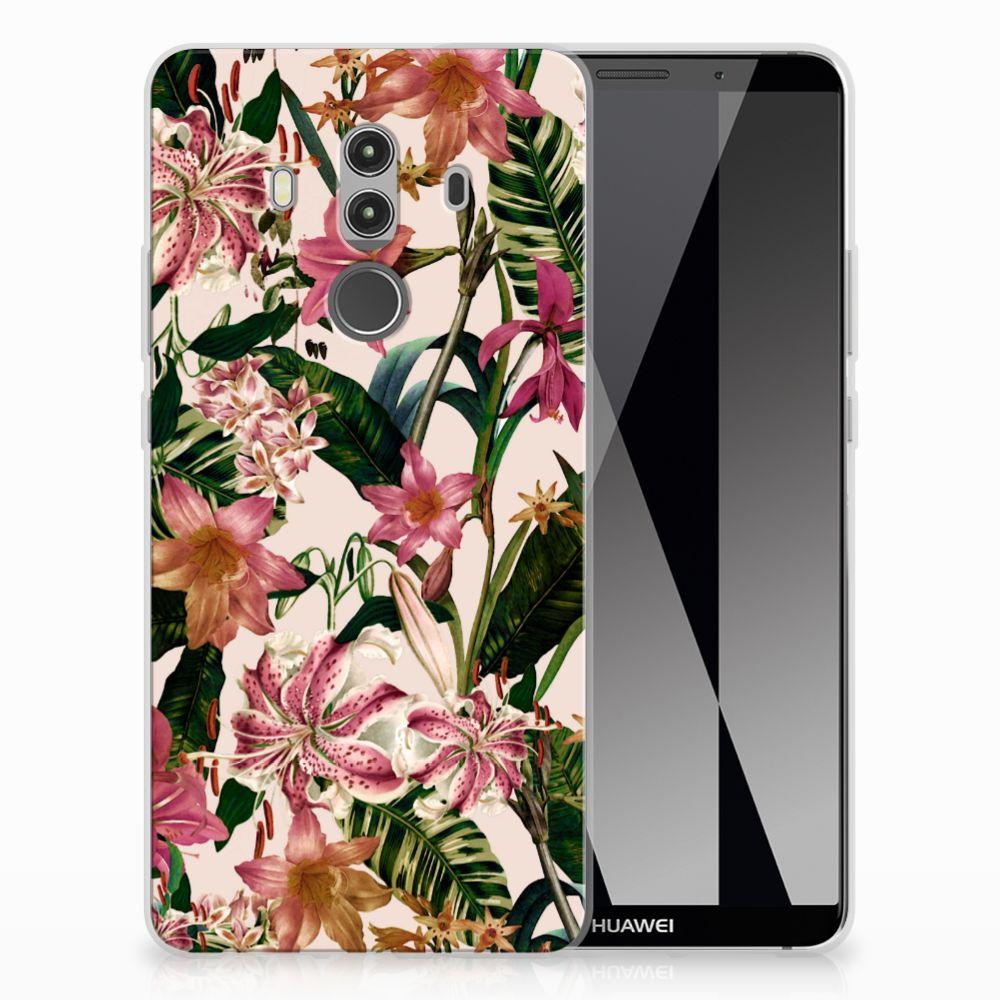 Huawei Mate 10 Pro TPU Case Flowers