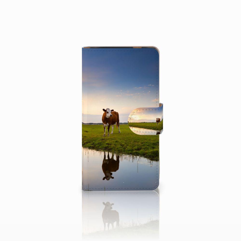 HTC Desire 601 Boekhoesje Design Koe