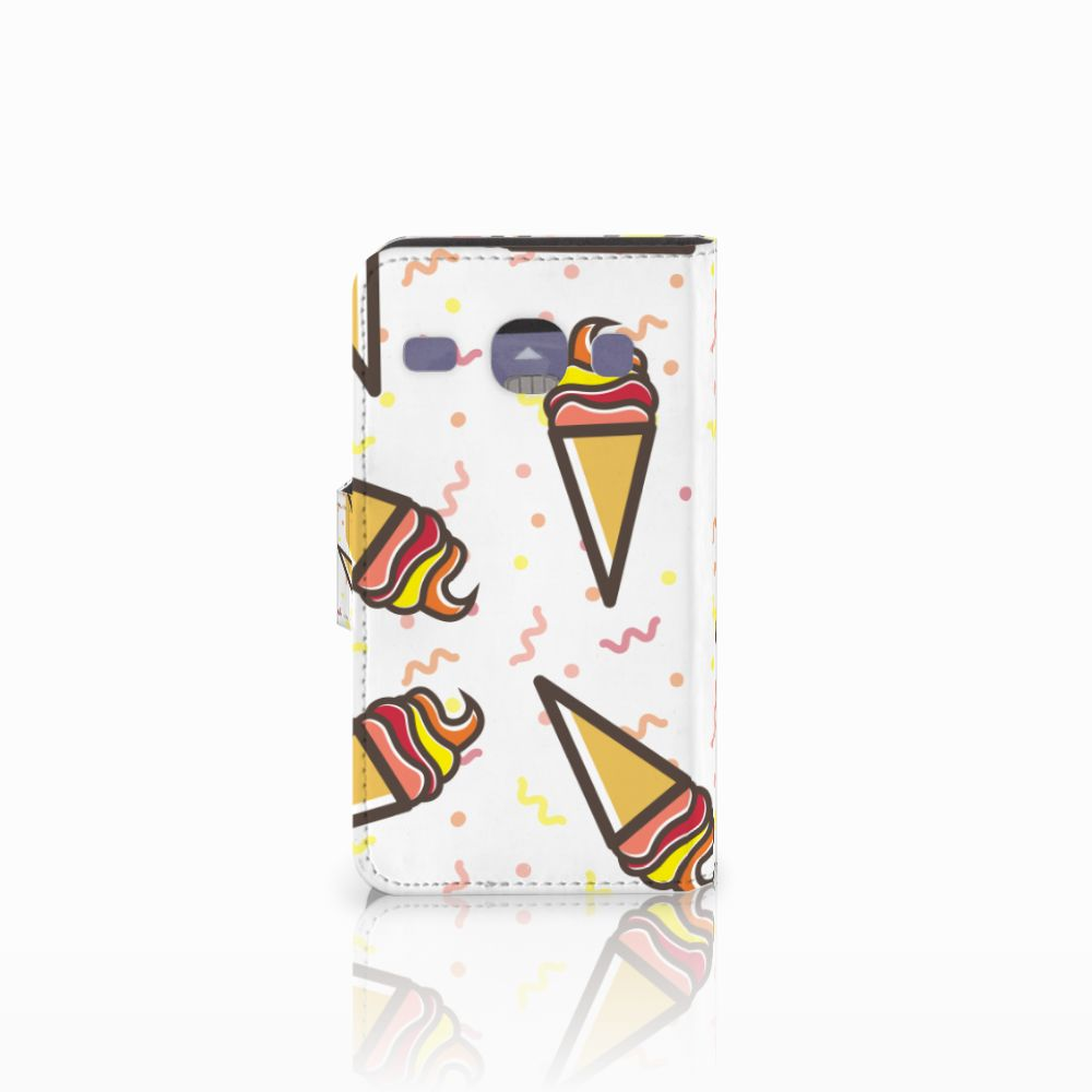 Samsung Galaxy Core i8260 Book Cover Icecream