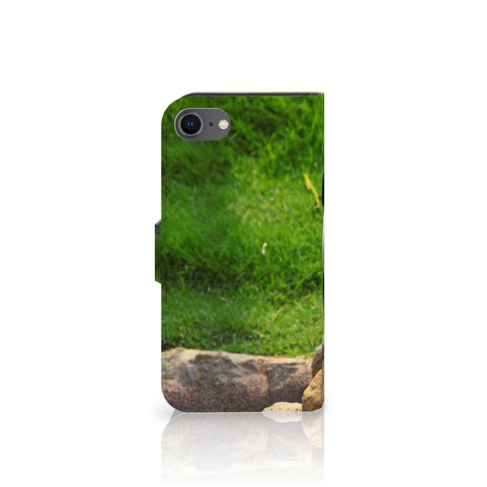 iPhone 7 | 8 | SE (2020) Telefoonhoesje met Pasjes Panda