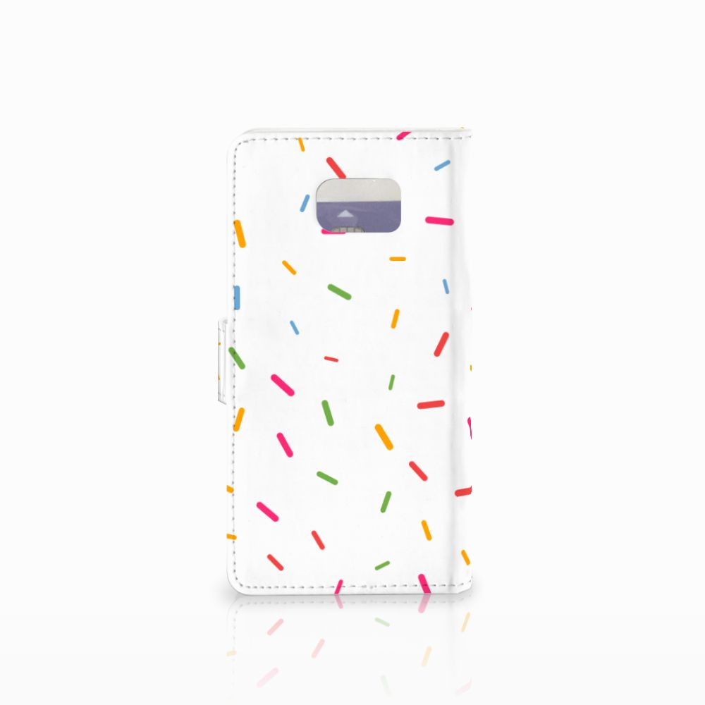Samsung Galaxy Note 5 Book Cover Donut Roze