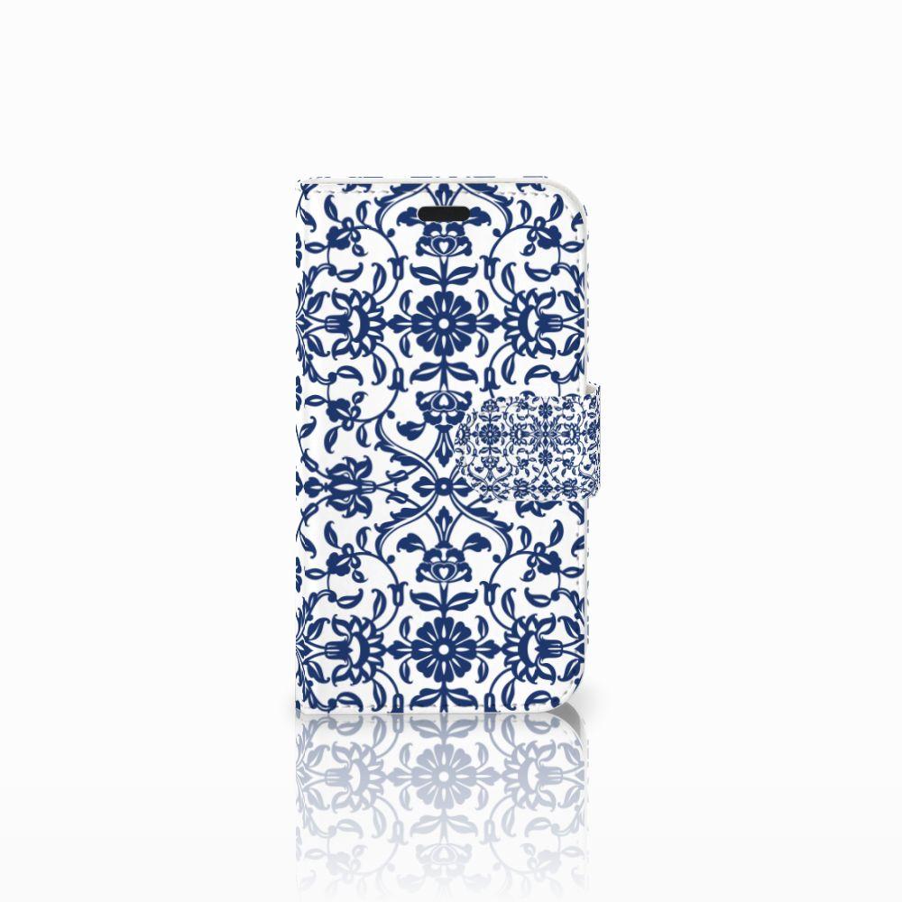 LG L Fino Boekhoesje Flower Blue