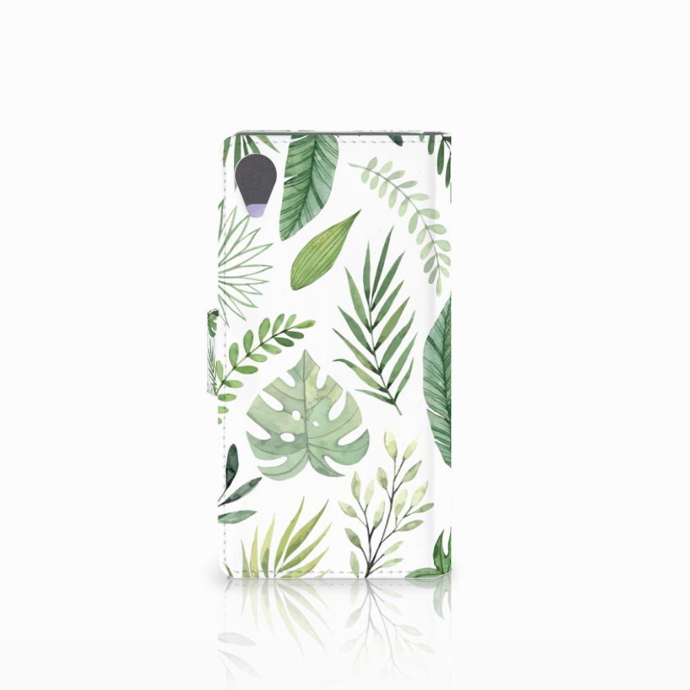 Sony Xperia X Performance Hoesje Leaves