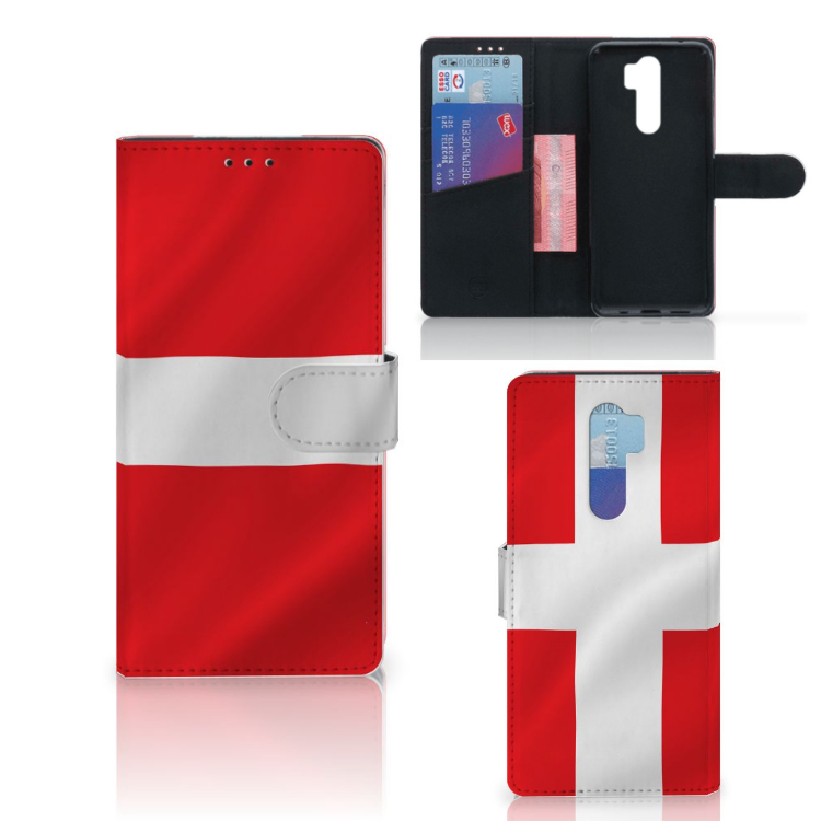 Xiaomi Note 8 Pro Bookstyle Case Denemarken