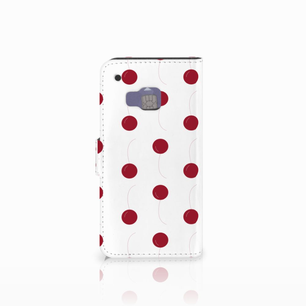 HTC One M9 Book Cover Cherries