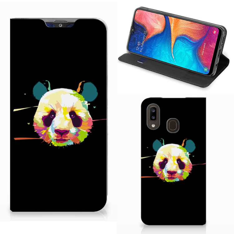 Samsung Galaxy A30 Magnet Case Panda Color