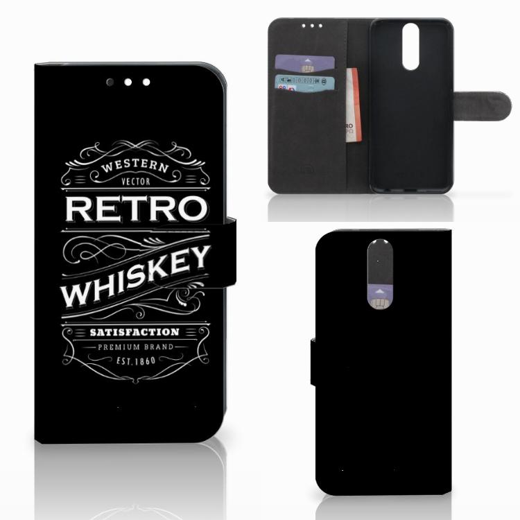 Huawei Mate 10 Lite Book Cover Whiskey