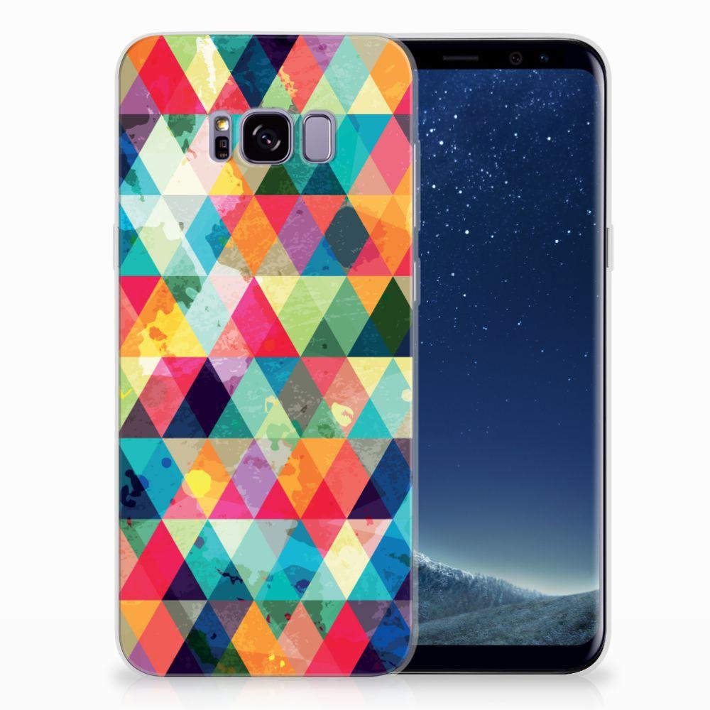 Samsung Galaxy S8 Plus Uniek TPU Hoesje Geruit