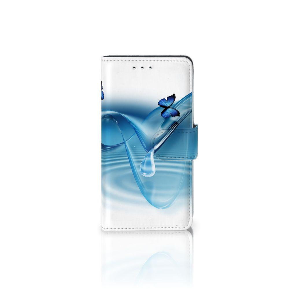 Motorola Moto G 3e Generatie Telefoonhoesje met Pasjes Vlinders