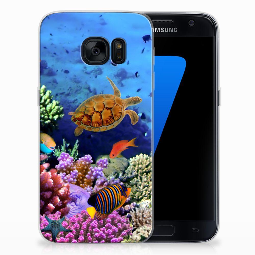 Samsung Galaxy S7 TPU Hoesje Vissen