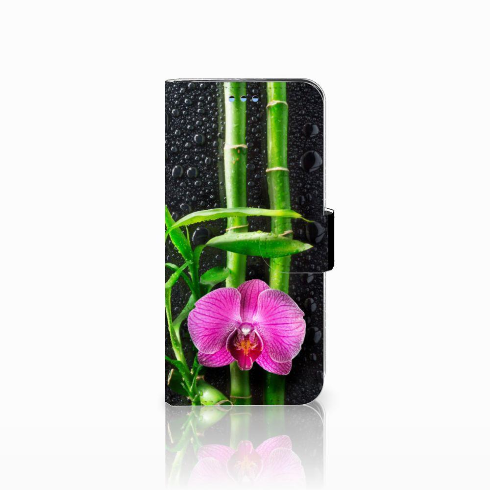 Samsung Galaxy S9 Boekhoesje Design Orchidee