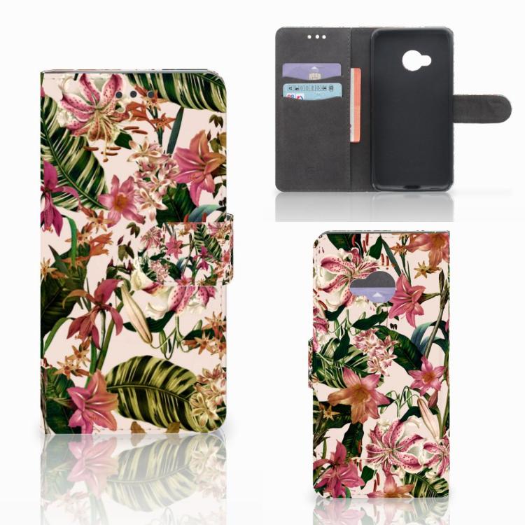 HTC U Play Hoesje Flowers