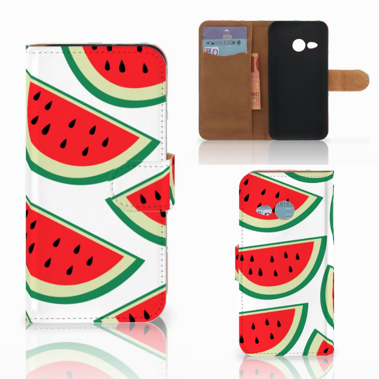 HTC One Mini 2 Book Cover Watermelons