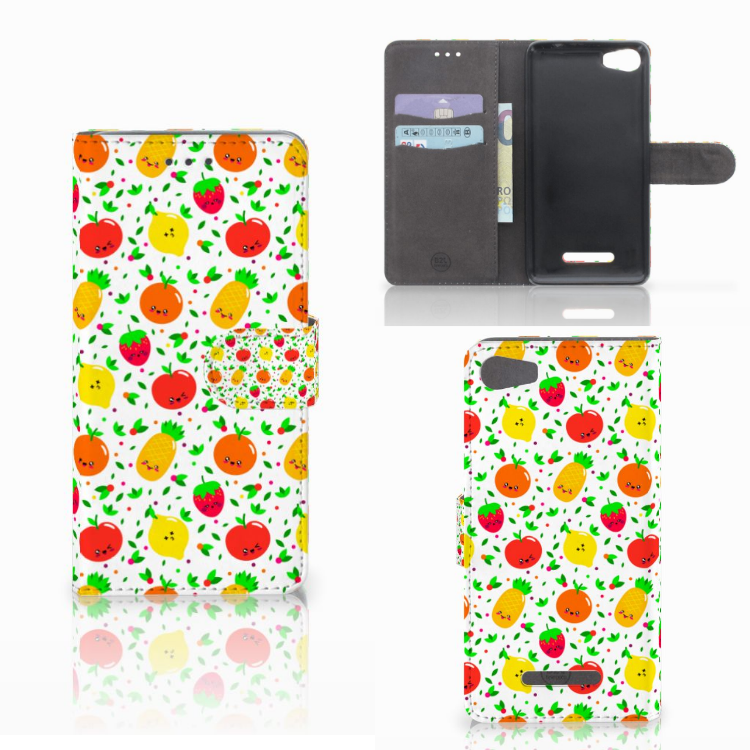 Wiko Lenny 2 Book Cover Fruits