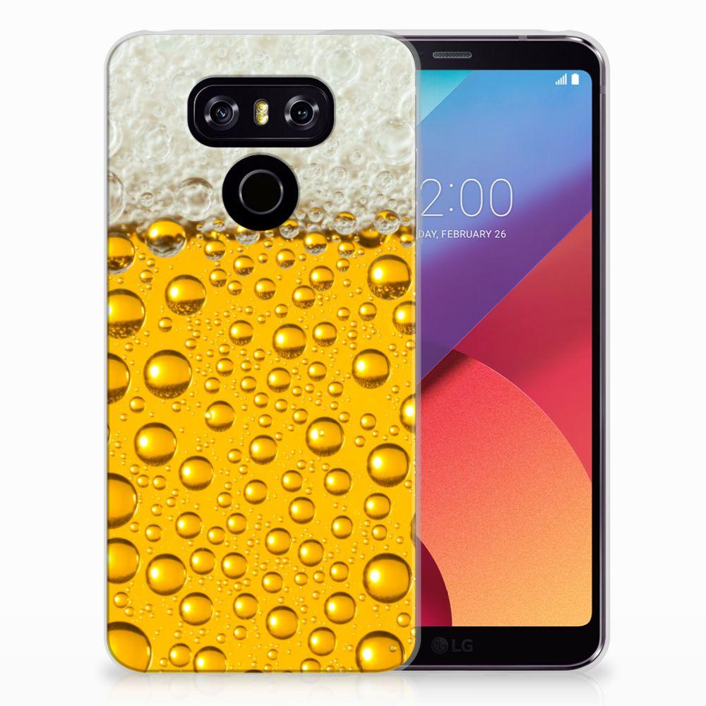 LG G6 Siliconen Case Bier